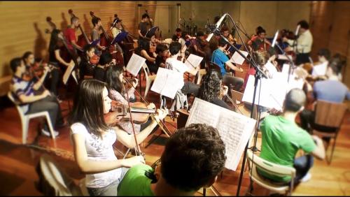 35-Gravação Primeiro CD-Orquestra Instituto GPA- 2014