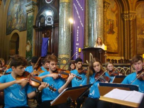 10-Orquestra Instituto GPA - Igreja da Consolação - Semana Santa-29 Março 2015